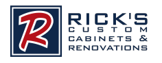 Ricks customs cabinets logo