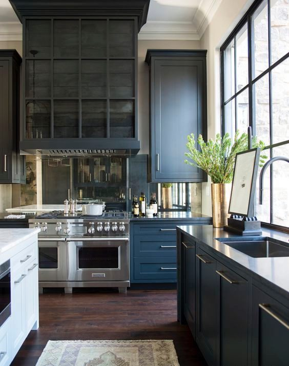 How to Style Grey Kitchen Cabinets - Rick's Custom ...